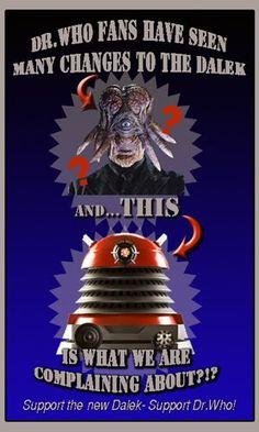 Dalek changes