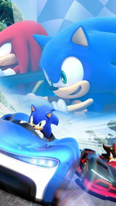 Sonic The Hedgehog, Video game, kart racing game, Nintendo, wallpaper Sonic The Hedgehog, Hedgehog Movie, More Wallpaper, Cartoon Wallpaper, Sonic 25th Anniversary, Apps For Girls, Videogames, Hedgehog Birthday, Carnival