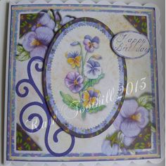 Images from Darling Buds collection Digikit.