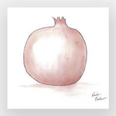 Pomegranate Art Art Prints Wine Art Wine Painting by DoniainArt