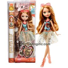 Mattel Year 2014 Ever After High Mirror Beach Series 10 Inch Doll - Daughter of Cinderella ASHLYNN ELLA (CLC66) with Sunglasses and Necklace
