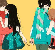 Anime Crying, Sad Anime, Dark Art Illustrations, Illustration Art, Fanarts Anime, Anime Characters, Alone Girl Pic, Sun Projects, Drawing Wallpaper