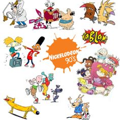 90s kid :) - Inspector Gadget, Ah! Real Monsters,The Angry Beavers,Hey Arnold, Rugrats, Douge, CatDog, Racko's modern life.