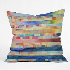 DENY Designs Jacqueline Maldonado Amalgama Throw Pillow 16 x 16