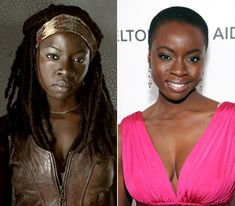 The Walking Dead Cast: What They Look Like on the Red Carpet: Dania Gurira