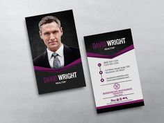 This modern vertical keller williams business card template features this modern vertical keller williams business card template features a large photo and stylized agent name on the front and professionally designed reheart Images