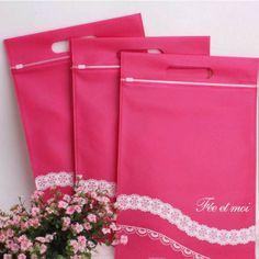 sexy lingerie underwear Packaging bag storage bag non-woven handbag $0.99