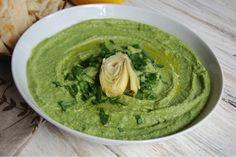 Spinach Artichoke Chickpea Hummus - Pulse Pledge