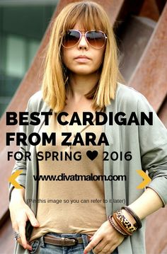 Best Cardigans, Zara, Spring, T Shirt, Fashion Tips, Image, Tops, Women, Supreme T Shirt