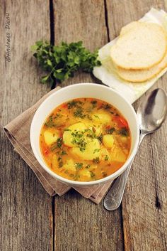 ciorbă ţărănească: Vegetable soup with rice Lunch Recipes, Meat Recipes, Vegetarian Recipes, Cooking Recipes, Yummy Veggie, Veggie Soup, Romania Food, European Dishes, Recipes From Heaven