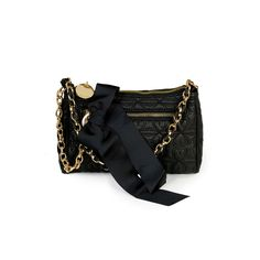 Deux Lux Love Drops Evening Pouch from LittleBlackBag in Black, like new without ribbon bow, $28 shipped.