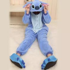 6756ca1191 jumpsuit blue onesie lilo and stitch stitch onesies Lilo Et Stitch Onesie
