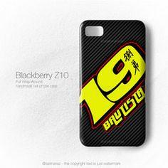 Alvaro Bautista MotoGP Honda Gresini Salmanaz Blackberry Z10 Cover