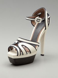 Marni High Heel Mary Jane Sandal - beyond graphic.