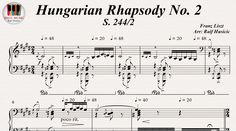 Hungarian Rhapsody No.2, S. 2442 - Franz Liszt, Piano https://youtu.be/ap-DIf8N2yU