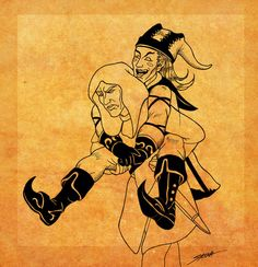 Lucien gives Cicero a piggyback ride, much to the old assassin's dismay . Gift art for who had a bad morning today. Hope you feel better soon. Cicero Skyrim, Elder Scrolls Lore, Bad Morning, Dark Brotherhood, Mother Dearest, Skyrim Mods, Old Things, Hearts, How Are You Feeling
