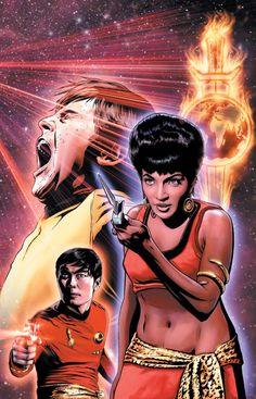 Star Trek: Mirror Images #4 Cover (IDW Publishing) By Joe Corroney