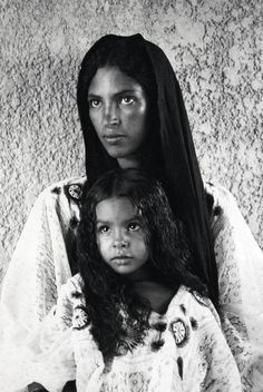 Mother & Daughter, Mahgreb, Africa 1930s