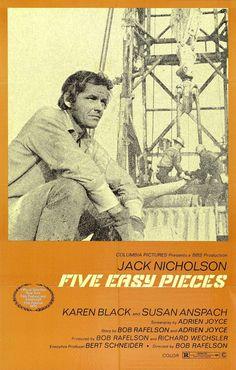 Five Easy Pieces (1970) D: Bob Rafelson starring Jack Nicholson, Karen Black, Susan Anspach. 19/03/05