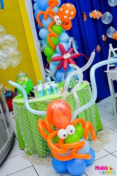 Cute Ideas Only (no instructions) for Under The Sea Theme!!!