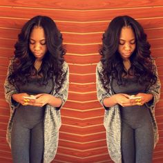 Middle part Text/ call 312-522-2237 for bundles %100 virgin hair body wave &…