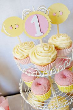 "Photo 1 of 14: Pink Lemonade / Birthday ""Pink Lemonade First Birthday"" 