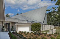 Holy Innocents Episcopal Church, Atlanta (USA) by TVS Associates  #church #architecture #zinc #roofing #quartz-zinc #usa
