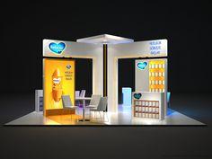 Nutricia - Bebelac - Aptamil Fuar ve Medikal Kongre Standı Tasarımı / Exhibition Booth Stand Design 6x6