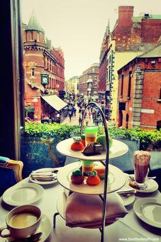 Afternoon Tea at The Westbury Hotel, Dublin Coffee Break, Coffee Time, Tea Time, Tea Places, Places To Visit, Irish Tea, Vegan Teas, Irish Drinks, Tea Party Table