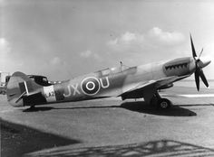 #Spitfire (this one is a Mark XIV), defender of the British sky in WW2