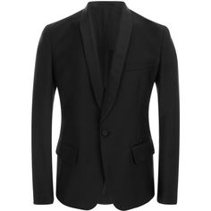 Black Wool Mohair Tuxedo Jacket ($1,485) ❤ liked on Polyvore featuring outerwear, jackets, blazers, men, black blazer, wool blazer, tuxedo blazer, mohair jacket and dinner jacket