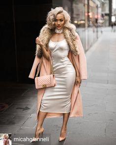 "Gefällt 61 Mal, 3 Kommentare - Ecstasy Models Streetstyle (@ecstasymodels) auf Instagram: ""Credit to @micahgianneli : Let me slip into something a little more comfortable... Slip dress &…"""