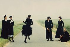 Photo by Sacha van Dorssen, Marie Claire, 1988.