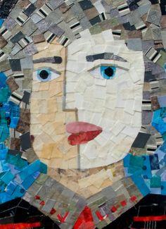 Temple Grandin collage...etsy