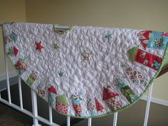 Christmas tree skirt by genevieve