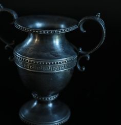 "Antique Silver Plated ""Loving Cup"""