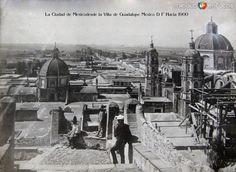 Panoramica desde la Villa de Guadalupe Hacia 1900