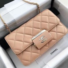 Chanel handbags are always gaining a great impression on most of the ladies' faces. Whenever we sow Chanel bags on stores or receiving it as a birthday gift, Fall Handbags, Hermes Handbags, Burberry Handbags, Purses And Handbags, Cheap Handbags, Cheap Purses, Popular Handbags, Hobo Purses, Fabric Handbags