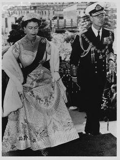 reine Élisabeth et son mari