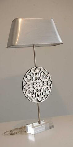 M.O.P Lamp. Designed By: Nevine Designs. To be ordered online through www.levantania.com