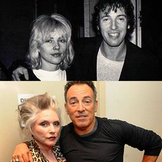 """504 Likes, 8 Comments - Scialfa/Springsteen (@theres_another_dance) on Instagram: """"Bruce and Debbie Harry ❤️ . Two of my forever favourite musicians! . #brucespringsteen…"""""""