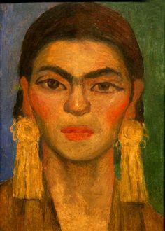 * Frida Kahlo - 1939 portrait par Diego Rivera