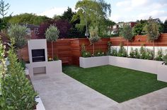 40 Incredible Modern Garden Landscaping Design Ideas On a Budget A modern or contemporary garden is characterized by a sleek, streamlined and sophisticated style. Modern garden designs draw on the simplicity of Asian des Back Garden Design, Garden Landscape Design, Patio Design, Landscape Designs, Landscape Curbing, Landscape Timbers, Landscape Edging, Landscape Quilts, Back Gardens