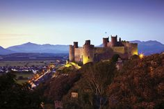 Harlech Castle, Snowdonia, Wales