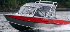 New 2012 Hewescraft 200 Sea Runner Multi-Species Fishing Boat - Included with Tower and Rod Holders.