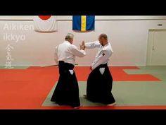 Aikido technique IKKYO and AIKI KEN, sword applications, by Stefan Stenu...