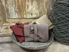 Leather wallets. Handmade!