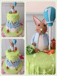 A beautiful cake..... Peter Rabbit