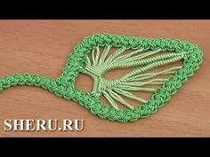 Кружевной листик для румынского кружева - Урок крючком Romanya dantel için dantel yaprağı - Tığ işi ders no. Freeform Crochet, Thread Crochet, Crochet Motif, Diy Crochet, Irish Crochet, Lace Patterns, Crochet Patterns, Crochet Unique, Romanian Lace