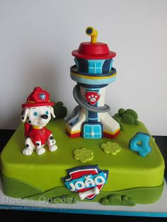 Doces Opções: Bolo de aniversário Patrulha Pata Paw Patrol Party, Party Ideas, Cakes For Boys, 3 Year Olds, Birthday Cakes, Decorating Cakes, Sweets, Toddler Girls, Ideas Party
